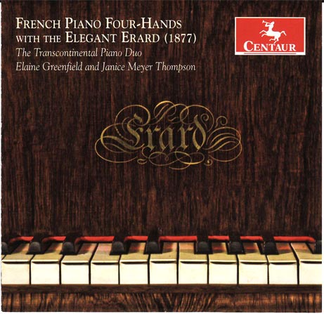 Cover of the Erard Piano CD