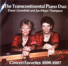 Transcontinental Piano Duo